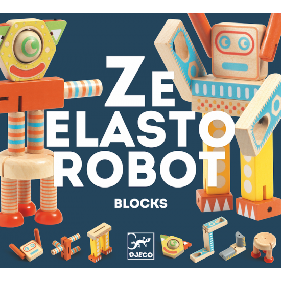 Ze elastorobot blocks