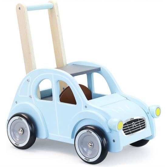 Chariot de marche 2 CV - bleue